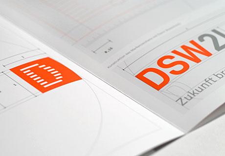 Hier wird ein Detail des DSW21 Manual gezeigt