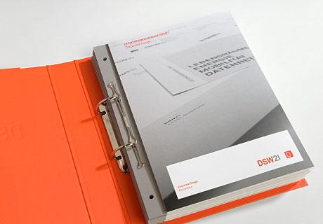 Hier wird das DSW21 Manual gezeigt