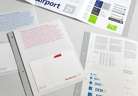 Hier wird ein Ausschnitt aus dem Manual Unternehmensverbund DSW21 gezeigt