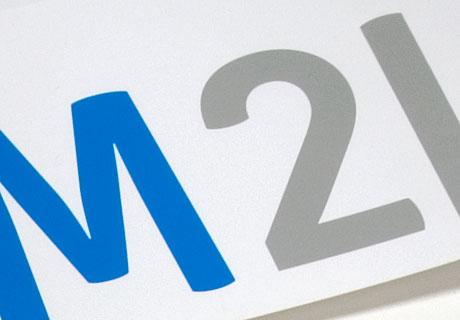 Hier wird ein Detail der Markenschrift Subtil gezeigt