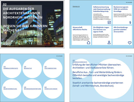 Architektenkammer NRW Aufgaben