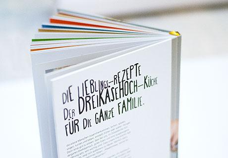 DreiKäseHoch Kochbuch Rückseite