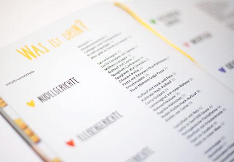 DreiKäseHoch Kochbuch Inhalt