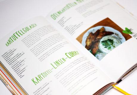 DreiKäseHoch Kochbuch vegetarische Gerichte