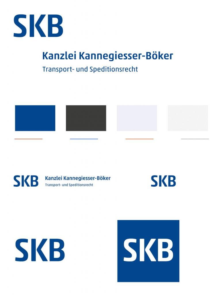 Hier ist das Logo SKB Kanzlei Kannegiesser-Böker